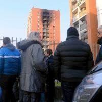 Milano, incendio in via Cogne: la struttura temporanea che accoglie gli evacuati