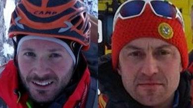 Valanga in provincia di Lecco, morti due alpinisti del Soccorso alpino