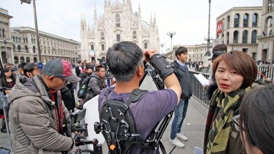Milano è un set ideale: oltre tremila richieste in sei anni per foto e riprese