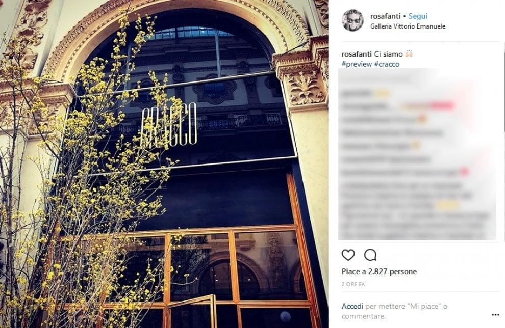 Milano, Cracco apre in Galleria: le foto sui social anticipano l'inaugurazione