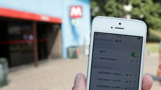 Wi fi gratis in metropolitana: a Milano è partita la sperime