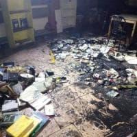 Brescia, incendio doloso al centro sociale Magazzino 47: