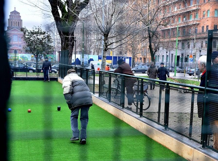 Milano, rinasce il campo da bocce di Jannacci e Beppe Viola