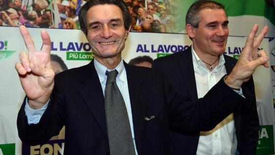 """Elezioni Lombardia, Fontana domina il rivale: """"Una buona vittoria"""". Gori: """"Imparare dalla sconfitta"""""""