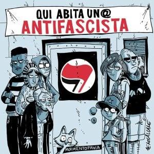 Pavia, case antifascisti 'marchiate': la risposta è firmata Zerocalcare