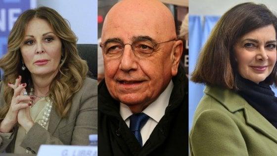 Elezioni, new entry e vecchie glorie: da Galliani a Bossi, da Boldrini a Santanché, gli eletti in Lombardia