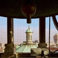 Riapre il Campanile dei sospiri di San Celso: Milano vista dalla cima della torre millenaria