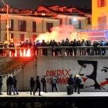 Foto  Corteo in memoria  di Dax: in Darsena  spuntano nuovi murales