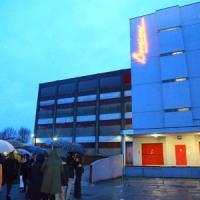 Si accende una luce sulla Cittadella degli archivi: l'installazione dedicata
