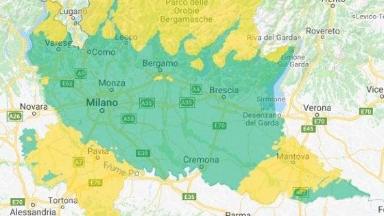 Milano, Pm10 ai minimi in città grazie alle piogge