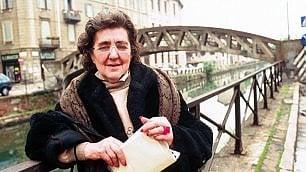 "Milano ricorda Alda Merini: ""Impazzire d'amore per la parola giusta""  Video"