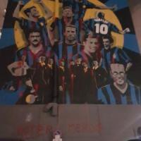 Milano, vandali imbrattano il murale per i 110 anni dell'Inter: la fotodenuncia