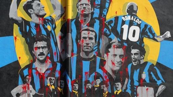 """Milano, vandali imbrattano il murale per i 110 anni dell'Inter. Il Comune: """"Il tifo è un'altra cosa"""""""