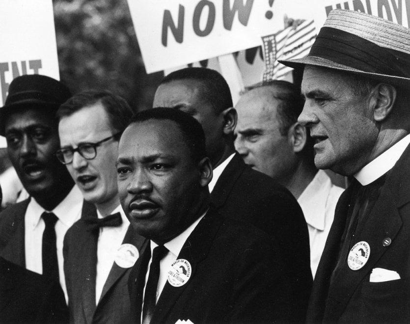 """""""I Have a Dream"""", Martin Luther King e la lunga lotta per i diritti civili: scatti storici in mostra a Milano"""