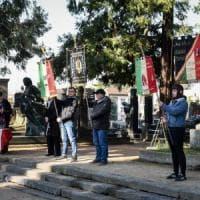 Al cimitero Monumentale la commemorazione nel sacrario dei