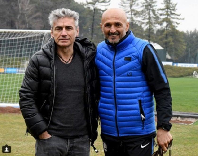 Rock and roll ad Appiano Gentile: Ligabue saluta l'Inter