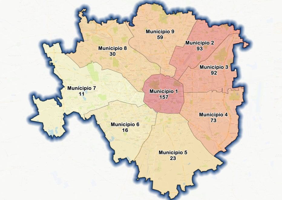 Milano, il censimento dei clochard: la mappa dei senzatetto municipio per municipio