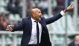 """Inter, Spalletti vuole ripartire: """"Su il muso e si va a giocare"""""""