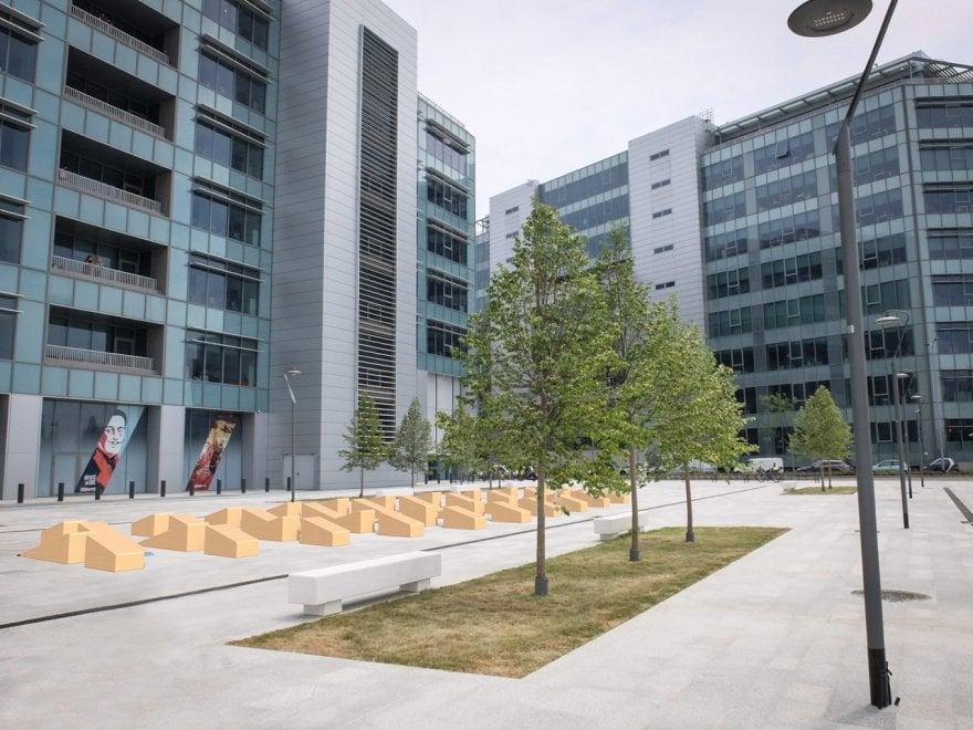 L 39 albero di natale diventa un 39 opera di design l 39 idea for Scuola design polimi