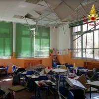 Busto Arsizio, crolla soffitto in classe: ferite quattro bambine di seconda