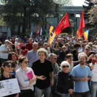 25 aprile a Milano, Susanna Camusso, Beppe Sala e don Ciotti sul palco di