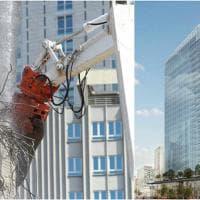Milano, gru e ruspe demoliscono l'ex palazzo Inps: al suo posto l'eco-grattacielo