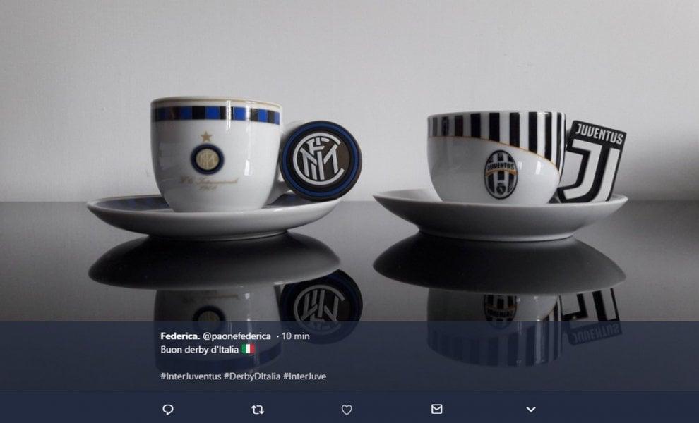 Inter-Juve: l'attesa sui social tra ironia e scaramanzia