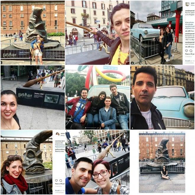 Milano, selfie per Harry Potter: il contest su Instagram fa scoppiare la mania