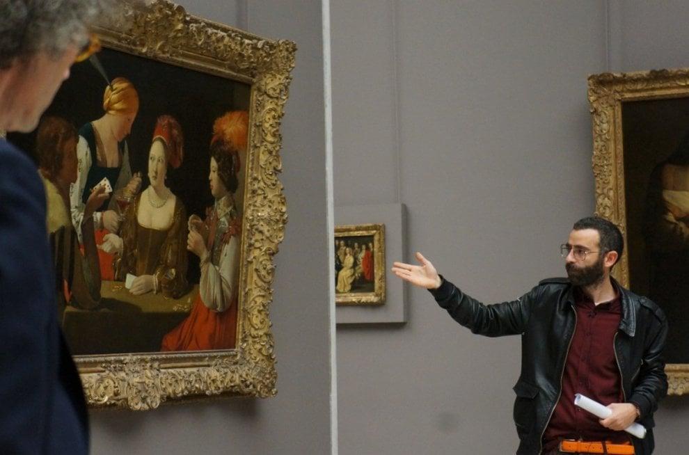 Parigi: writer lombardo dà lezione di street art al Louvre