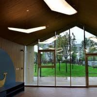 L'asilo del futuro è a Citylife: casette bioclimatiche con vista sui grattacieli