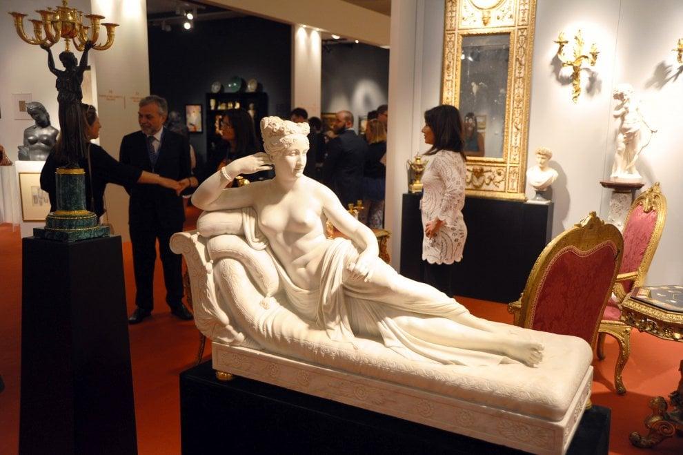 Canaletto, Hayez, Fattori: a Milano al via la mostra-mercato con i capolavori dell'antiquariato