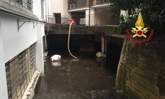 Maltempo: bomba d'acqua nel Milanese, Legnano paralizzata