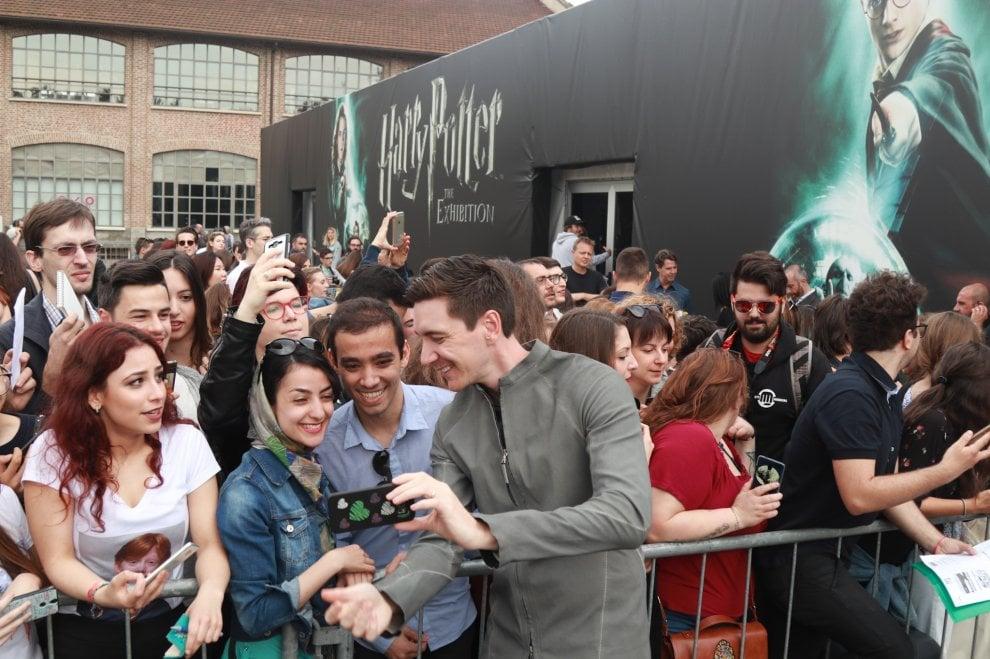 Harry Potter a Milano, code all'inaugurazione della mostra con i fratelli Weasley