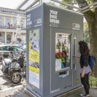 Opere d'arte al posto del caffé: a Bergamo arriva il distributore di cultura
