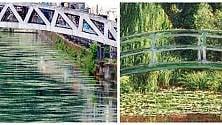 I Navigli come 'Il ponte  giapponese' di Monet:  l'effetto alga è artistico
