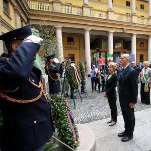 Milano, cerimonia in questura in ricordo della morte del commissario Luigi Calabresi