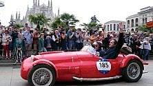 Mille Miglia: lo show delle auto d'epoca nel cuore di Milano