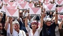 In piazza della Scala    per dire basta a omofobia   razzismo e fascismo