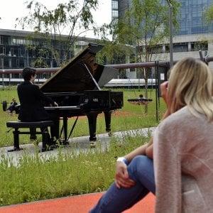 Milano, Piano City boom, 100 mila in ascolto tra musica e po
