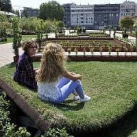 La Fabbrica del Vapore si tinge di verde e si trasforma in un parco urbano
