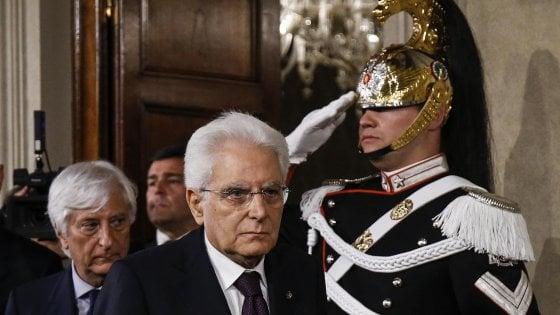 L'Italia torna al voto? La fermezza di Mattarella