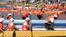 Dragon boat, in scena all'Idroscalo di Milano la tradizionale gara cinese