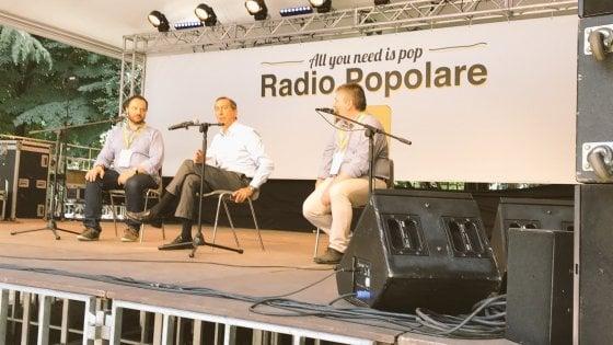 """Milano, Sala alla festa di Radio Popolare attacca Salvini: """"Diabolico attivatore di consenso"""""""