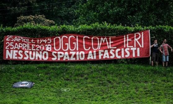 """Pontida, sfila l'orgoglio """"terrone e antirazzista"""" nella città simbolo della Lega"""
