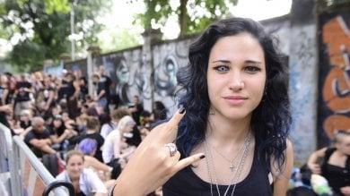 Foto  Borchie anfibi e look dark: i fan di Marilyn Manson in attesa del concerto al Milano Summer Festival all'Ippodromo