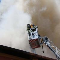 Mortara: nuovo incendio nell'area sotto sequestro per le eco-mafie