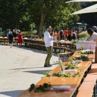 Ricetta Milano: i preparativi della grande tavolata solidale al Parco Sempione