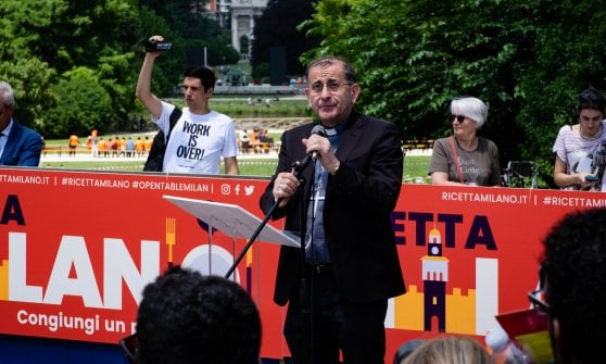 Ricetta Milano: al Sempione in migliaia alla tavolata solidale per il pasto dei popoli