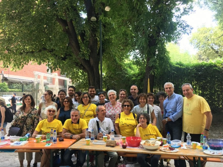 Ricetta Milano: le foto dei partecipanti al pasto dei popoli/2