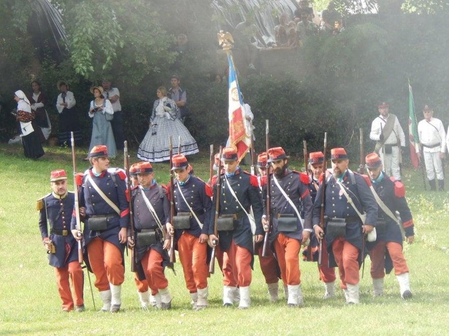 La rievocazione della battaglia di san martino e solferino for Battaglia di milano